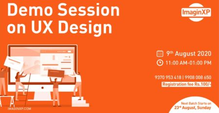 Demo Session on UX Design  9  th August