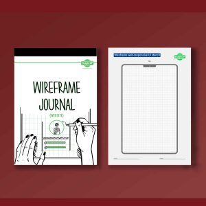Wireframe journal for website