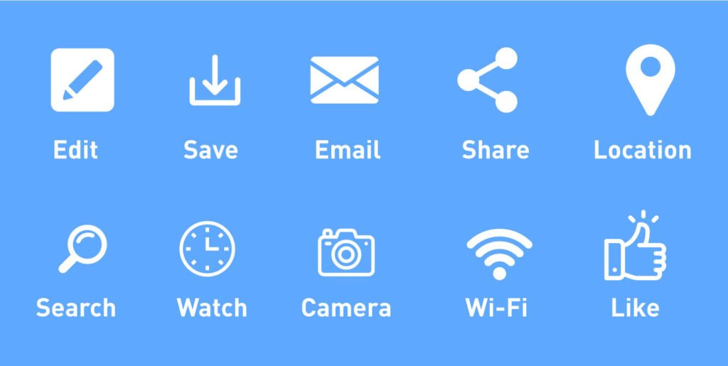 icon of affordances in ux
