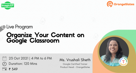 Organize Your Content on Google Classroom