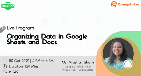 Organizing Data in Google Sheets and Docs